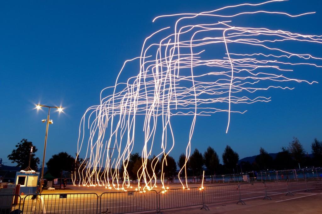 Spaxels Over Linz_Markus Scholl